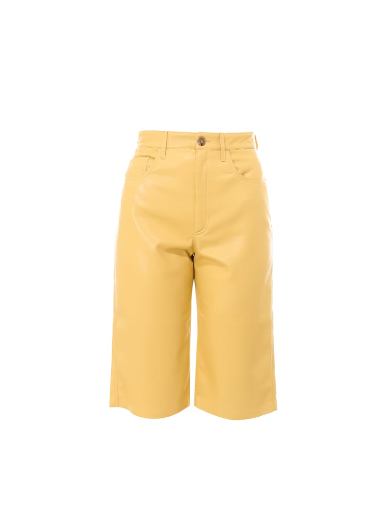 Nanushka Trouser - Yellow