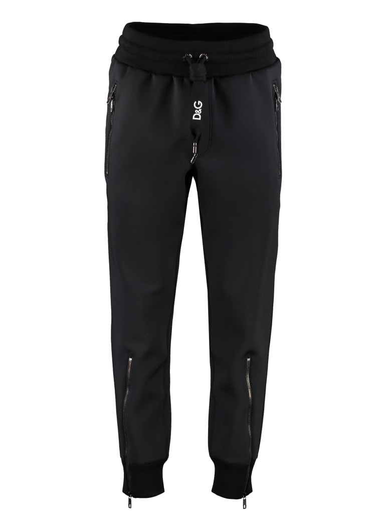 Dolce & Gabbana Jersey Jogging Trousers - black