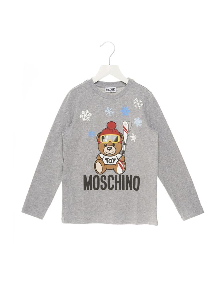 Moschino 'teddy Snow' T-shirt - Grey
