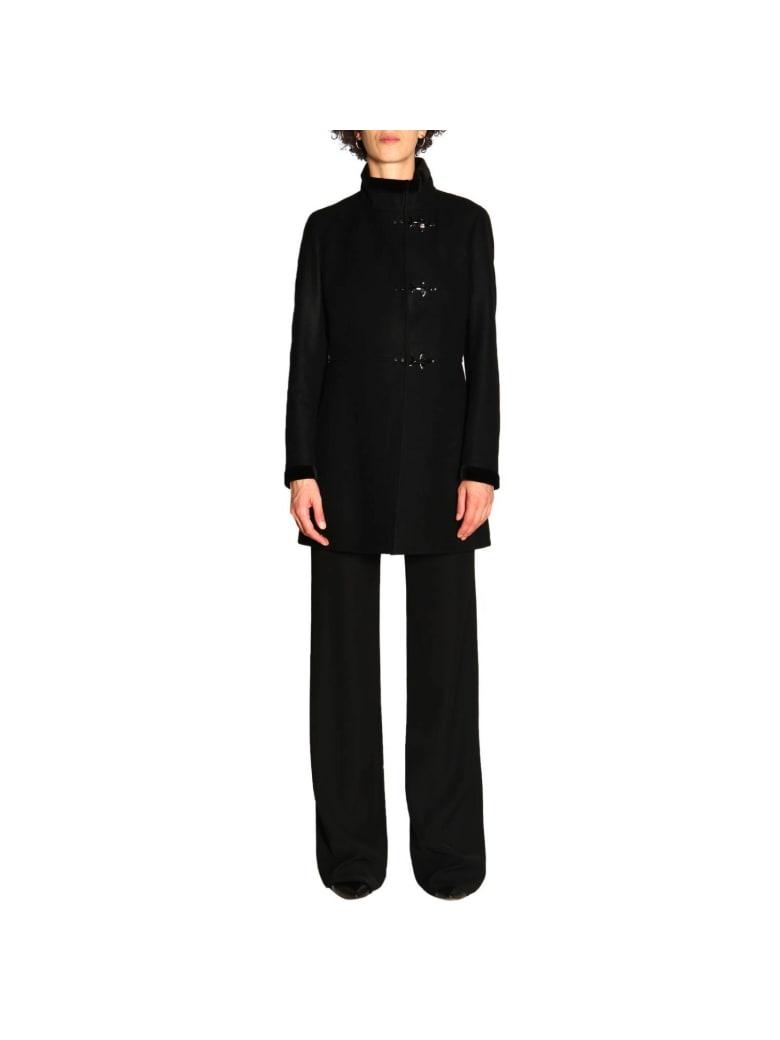 Fay Coat Coat Women Fay - black