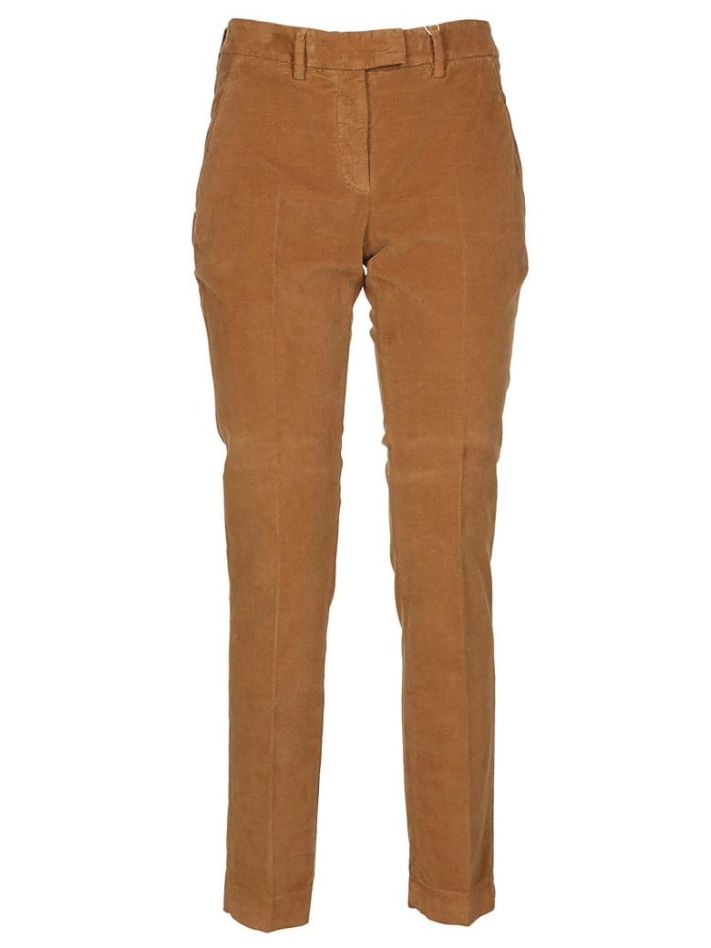 Incotex Skinny Trousers - Brown