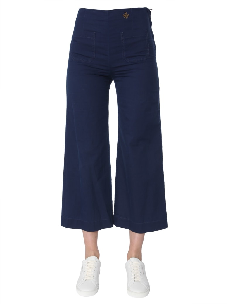 Mr & Mrs Italy Cropped Trousers - BLU