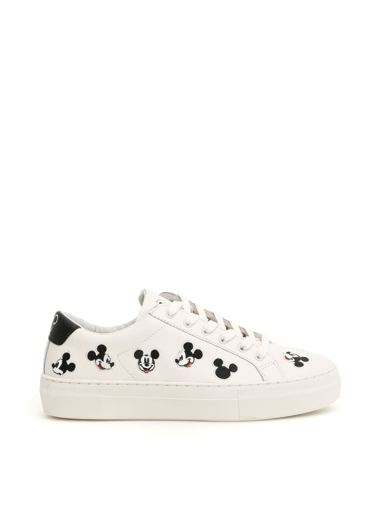 M.O.A. master of arts Leather Disney Sneakers - WHITE MULTI (White)