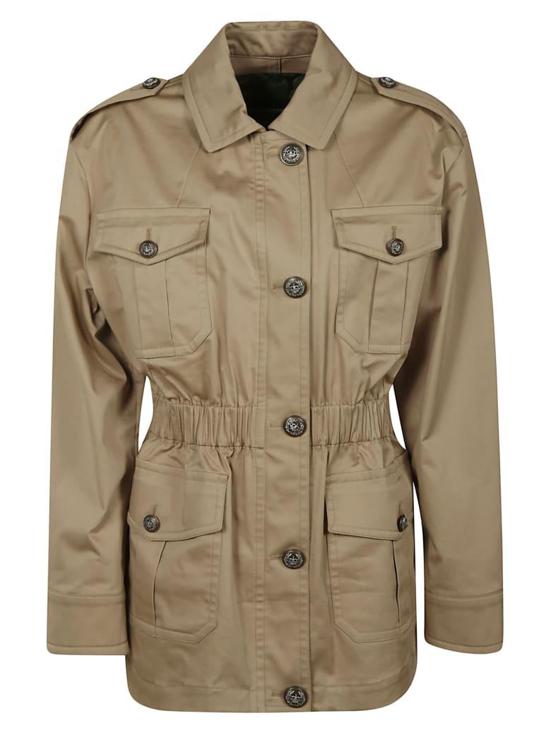 Dolce & Gabbana Buttoned Multi-pocket Jacket - Beige