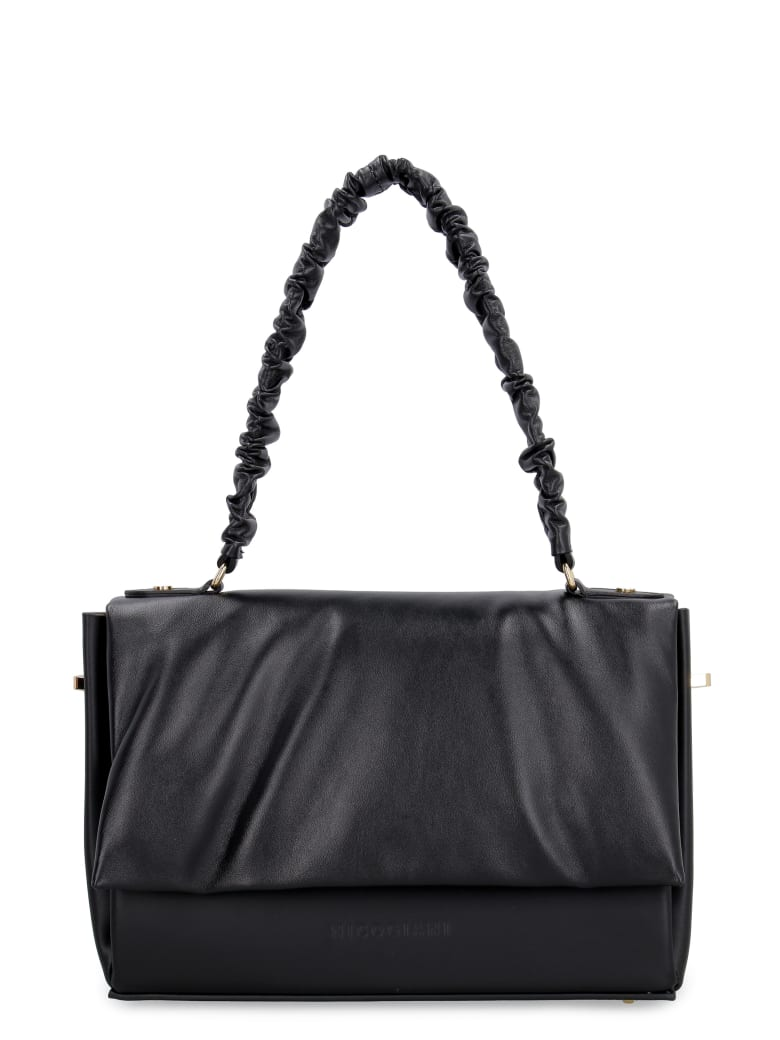 Nico Giani Polly Leather Bag - black