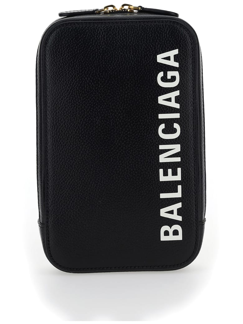 Balenciaga Phone Case - Black/l white
