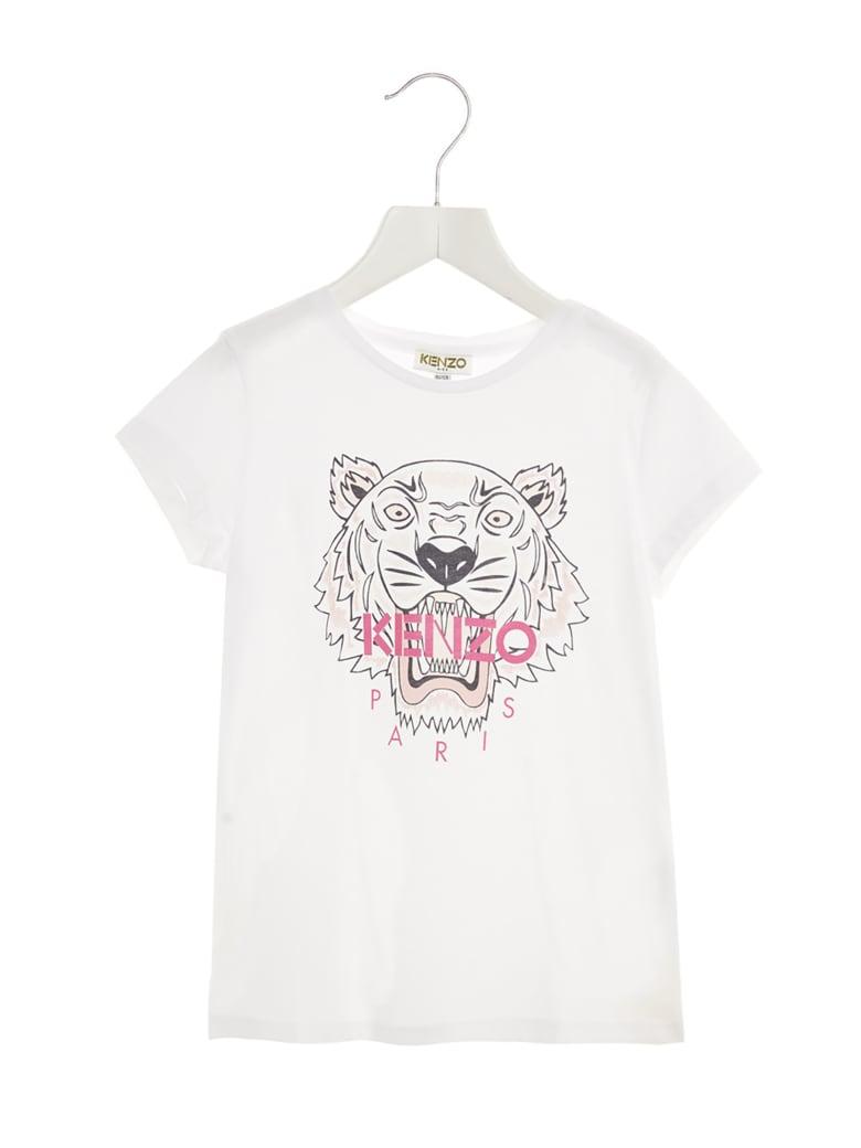 Kenzo Kids 'tiger' T-shirt - White