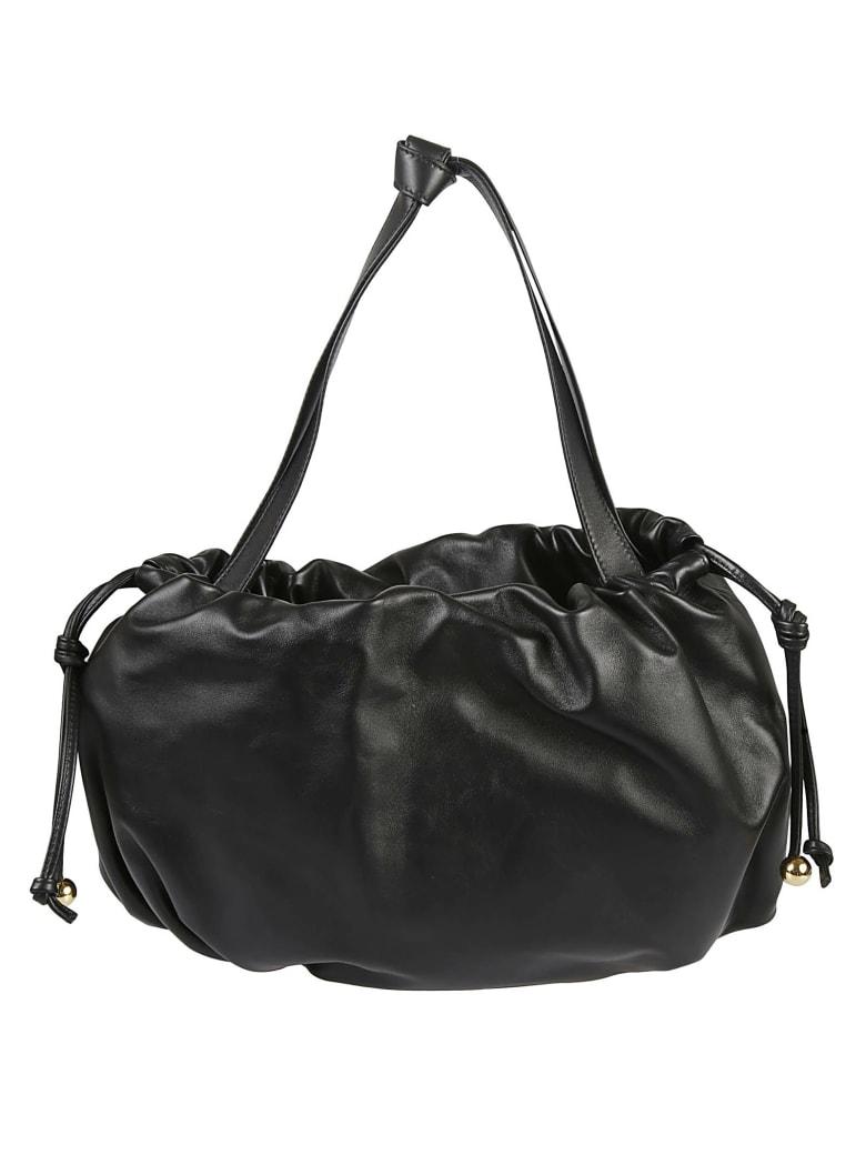 Bottega Veneta Short Handle Shoulder Bag - Black/Gold