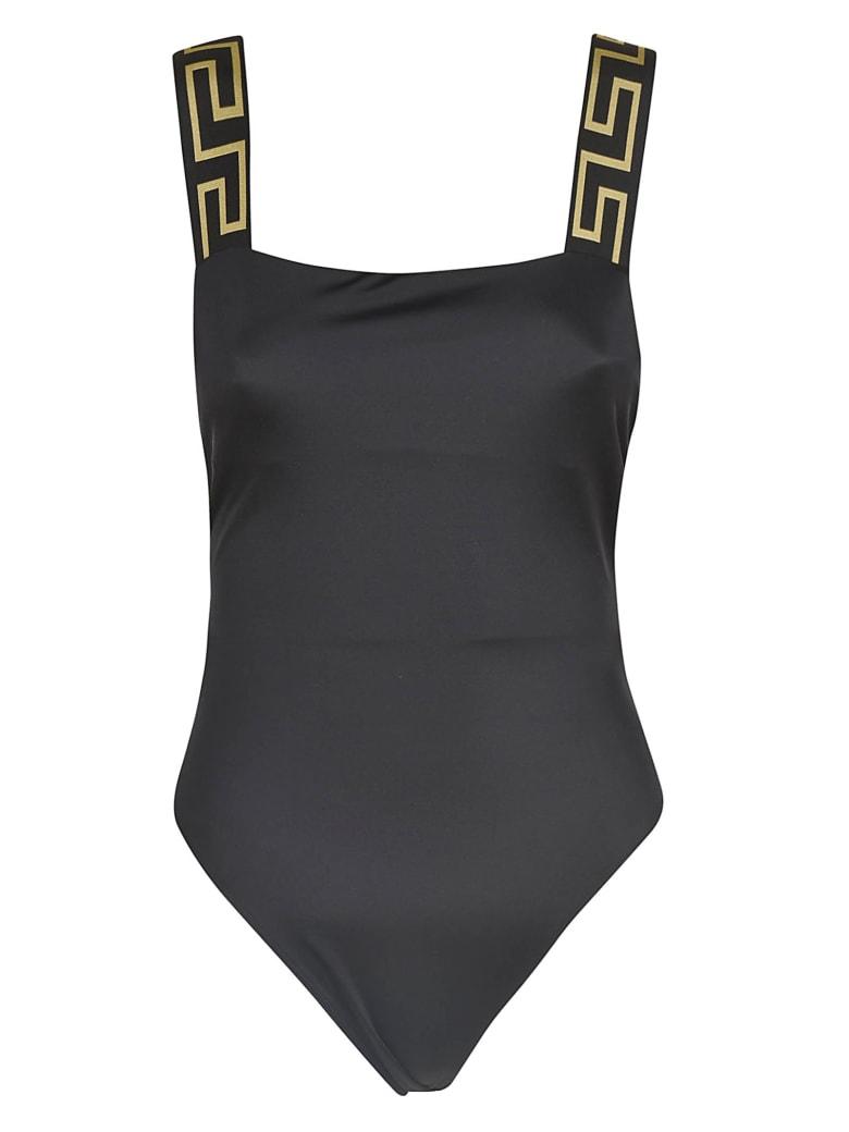 Versace Slim-fit Swimsuit - black