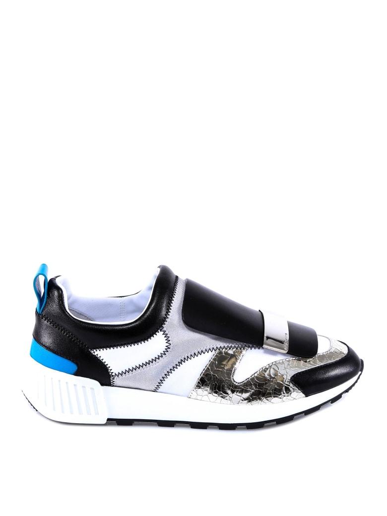 Sergio Rossi Sr Running Sneakers - Silver