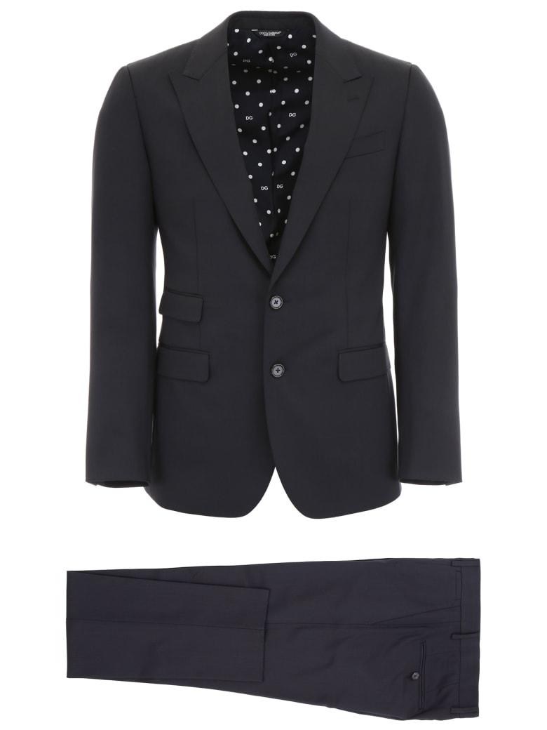 Dolce & Gabbana Napoli Suit - BLU SCURISSIMO 1 (Blue)