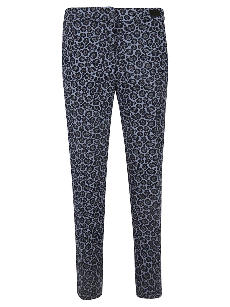 Be Blumarine All Over Print Trousers - sky