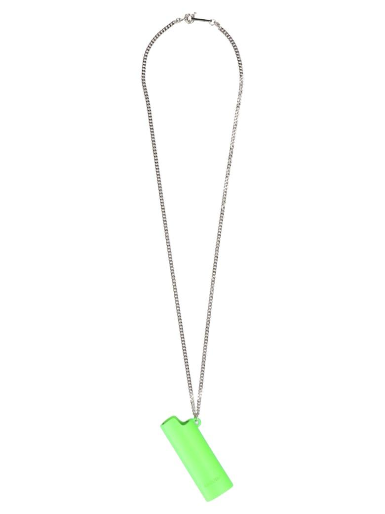 AMBUSH 'lighter Case' Necklace - Green