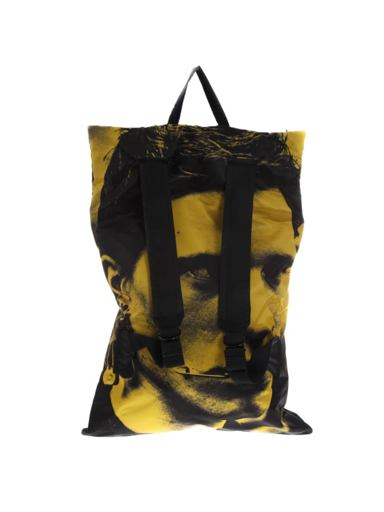 Eastpak Backpack Poster Eastpak Lab X Raf Simons Limited Edition - Black/yellow