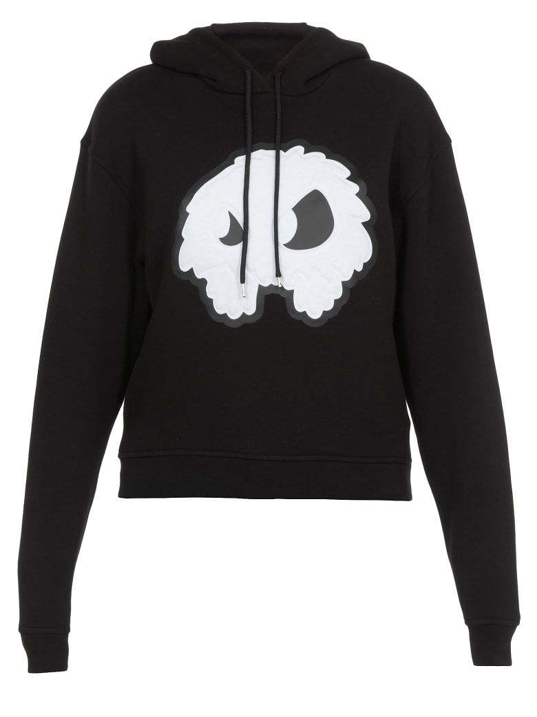 McQ Alexander McQueen Monster Print Sweatshirt - Darkest Black