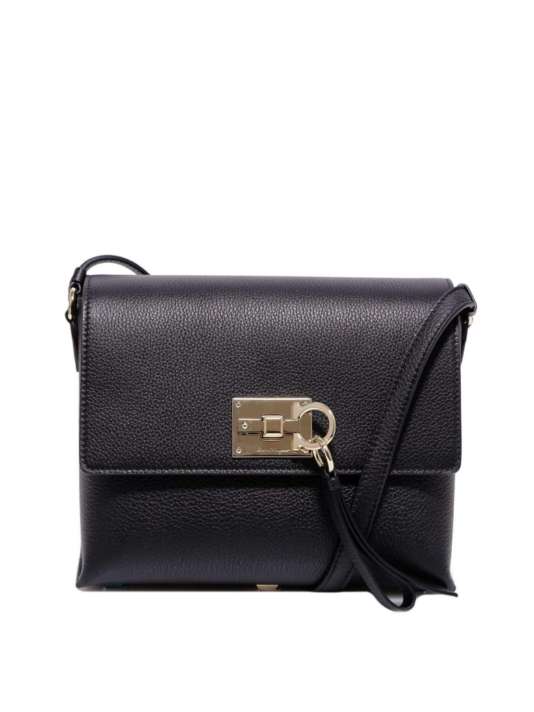 Salvatore Ferragamo Shoulder Bag - Black