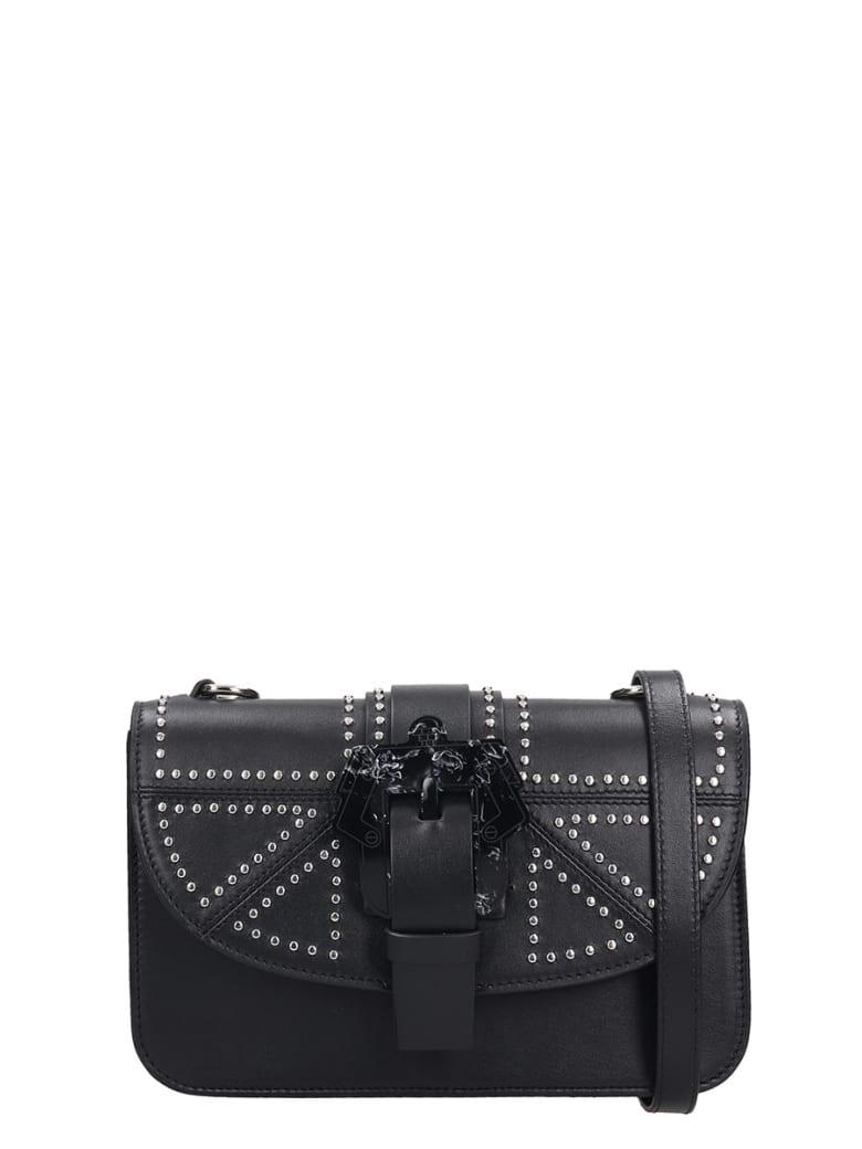 Paula Cademartori Shoulder Bag In Black Leather - black