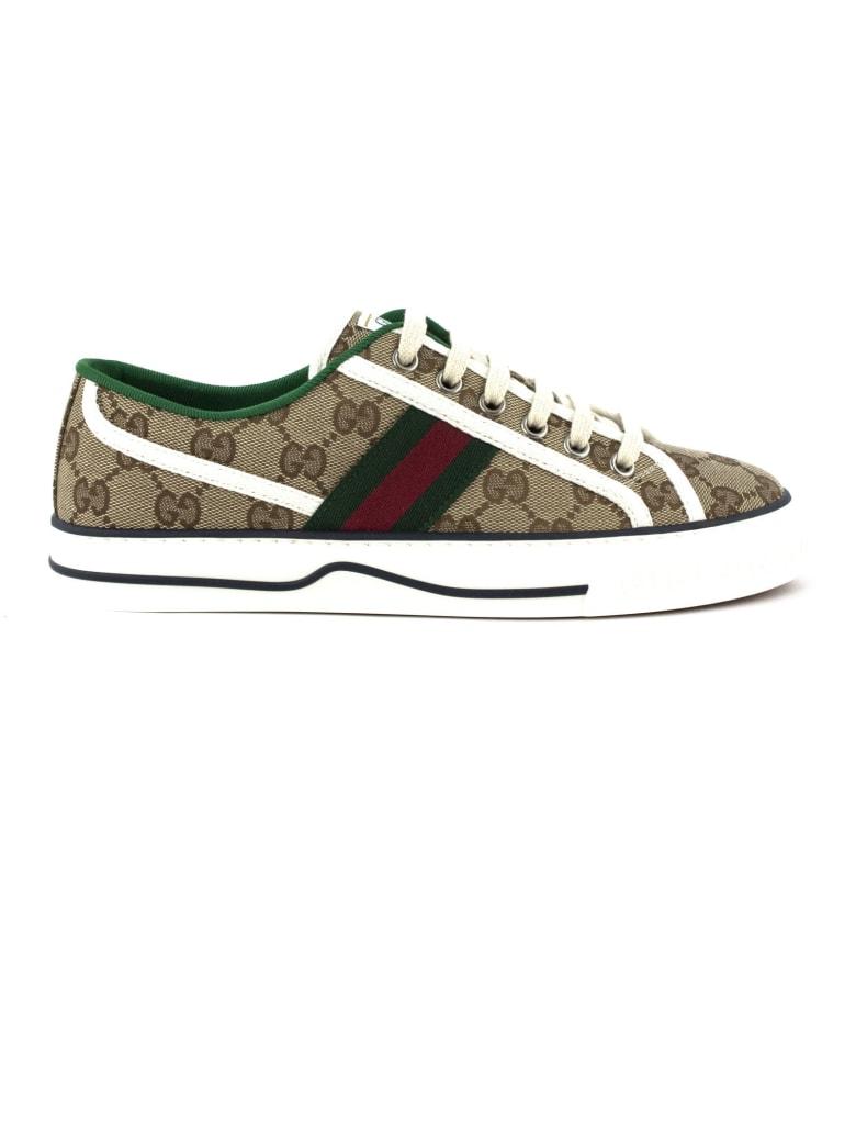 Gucci Gg Gucci Tennis 1977 Sneaker - Beige