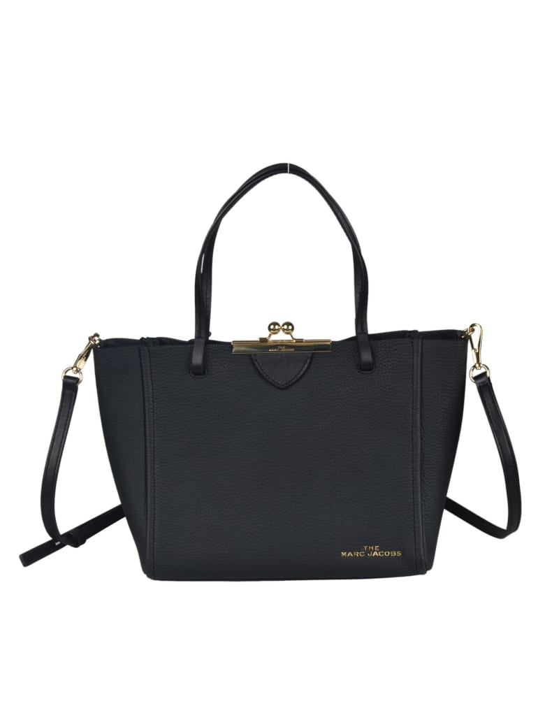 Marc Jacobs Logo Plaque Tote - Nera