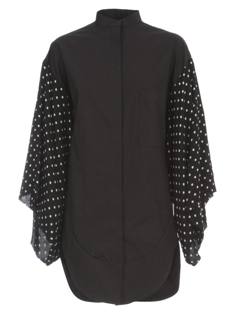 Haider Ackermann Kimono Sleeve Tunic - Byron Black