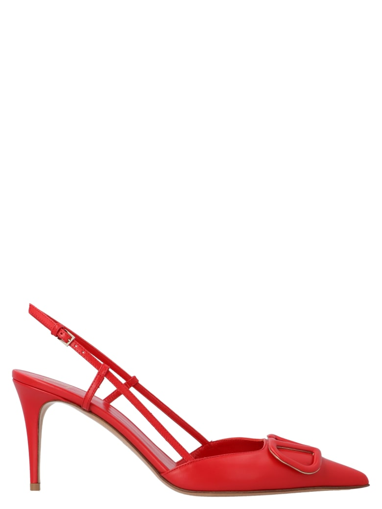 Valentino Garavani 'vlogo' Shoes - Red