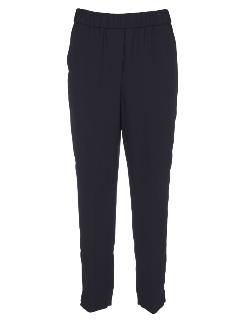 Peserico Regular Fit Trousers - Blue