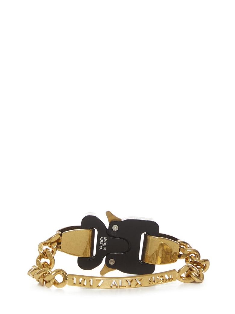 1017 ALYX 9SM Alyx Buckle Bracelet - Gold