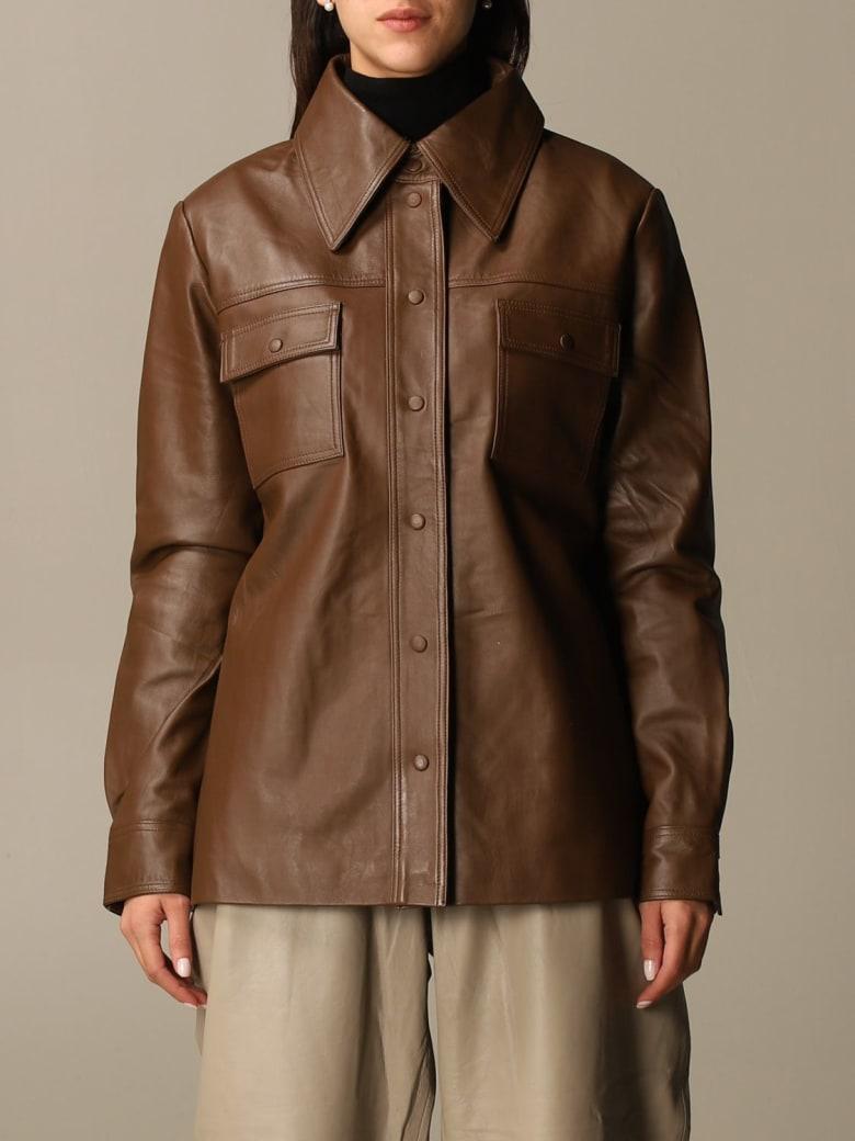 REMAIN Birger Christensen Remain Shirt Shirt Women Remain - Brown