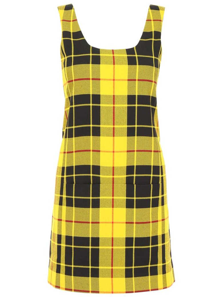 Rokh Tartan Dress - YELLOW (Yellow)