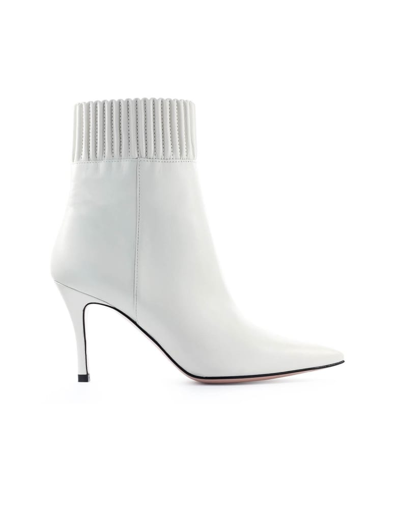 Roberto Festa White Christa Ankle Boot - Bianco (White)