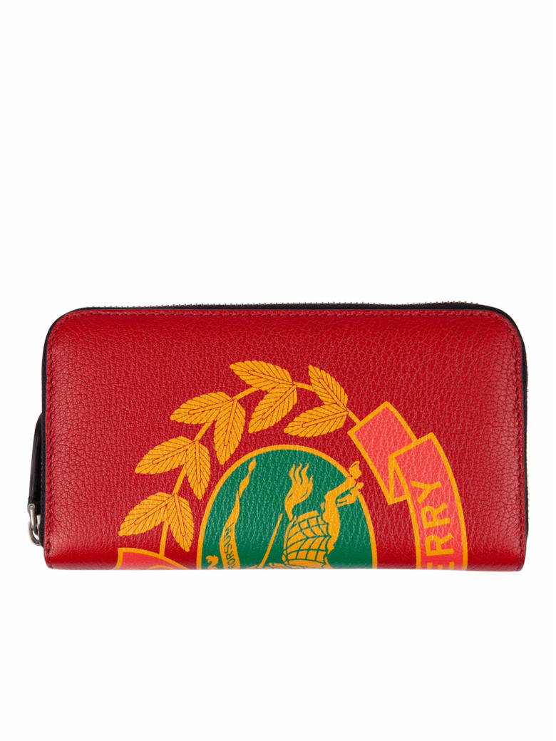 Burberry Cards Holder - Red