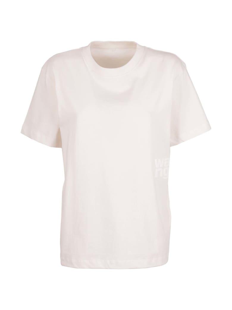 T by Alexander Wang Short Sleeve T-Shirt -  Bianco