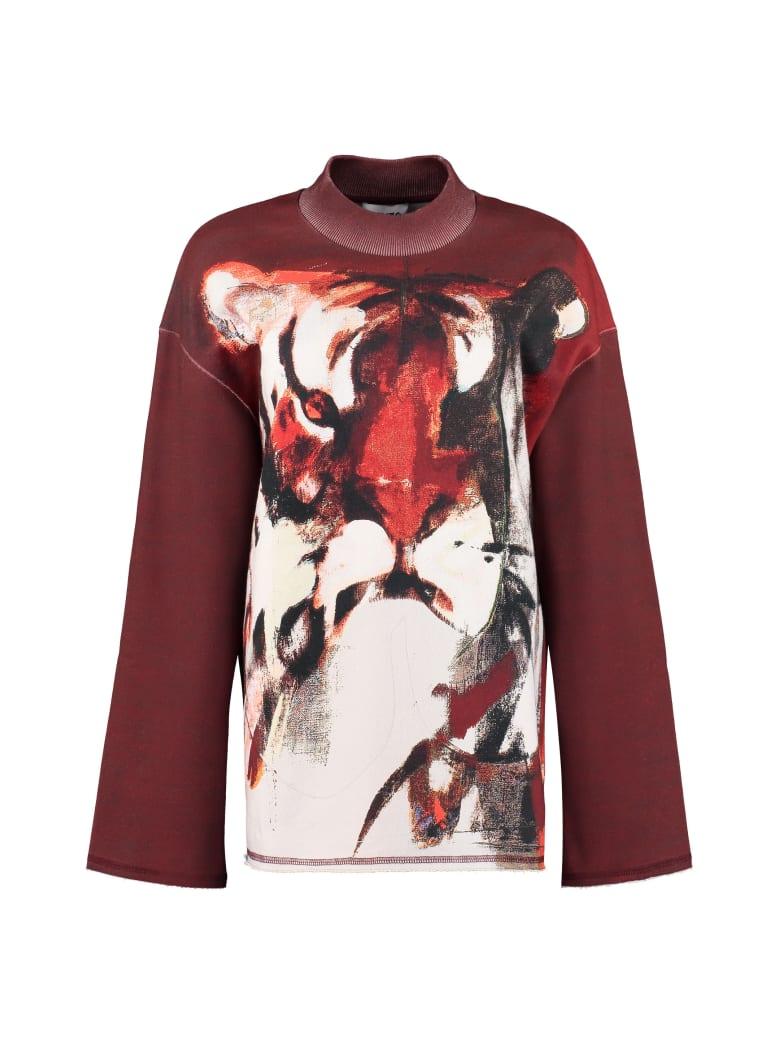 Kenzo Printed Crew-neck Sweatshirt - Multicolor