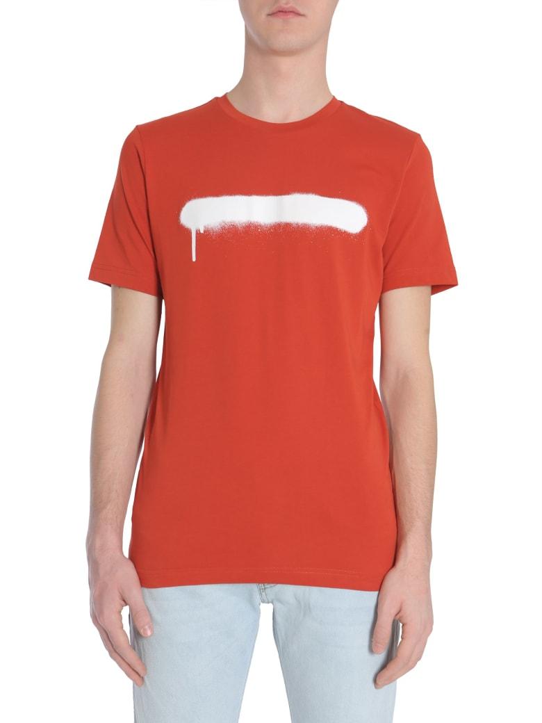 Diesel Black Gold Ty-sprayline T-shirt - ROSSO