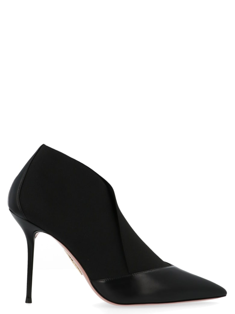 Aquazzura 'hold On Bootie' Shoes - Black