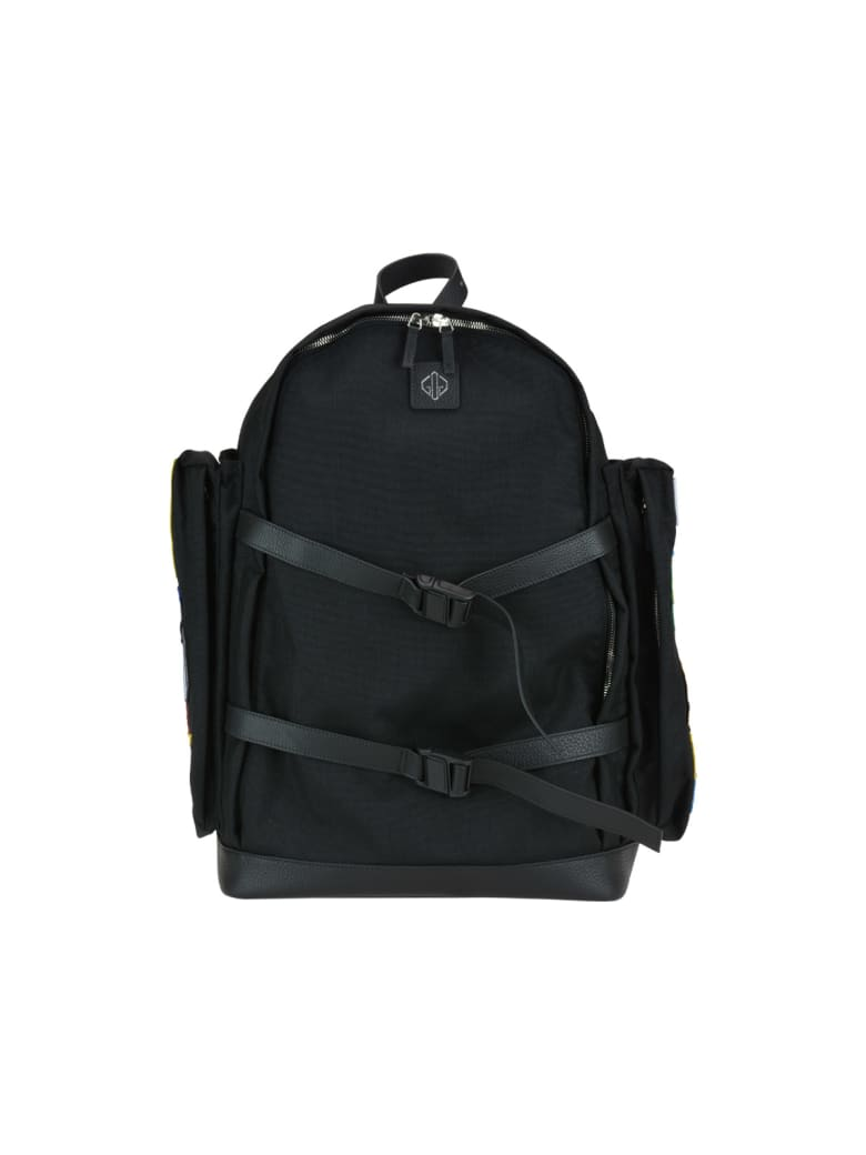 Golden Goose The Backpack Xl - Black patches