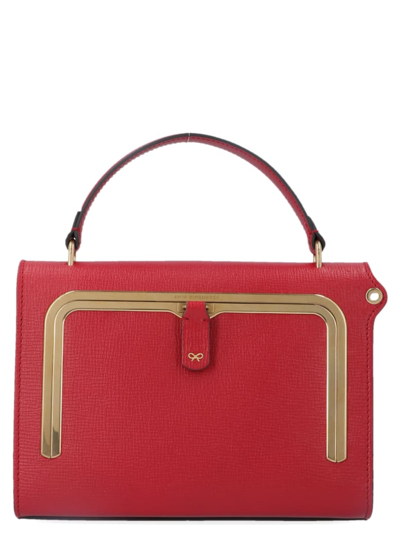 Anya Hindmarch 'postbox' Bag - Burgundy