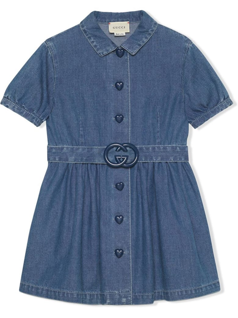 Gucci Children's Denim Dress - Denim