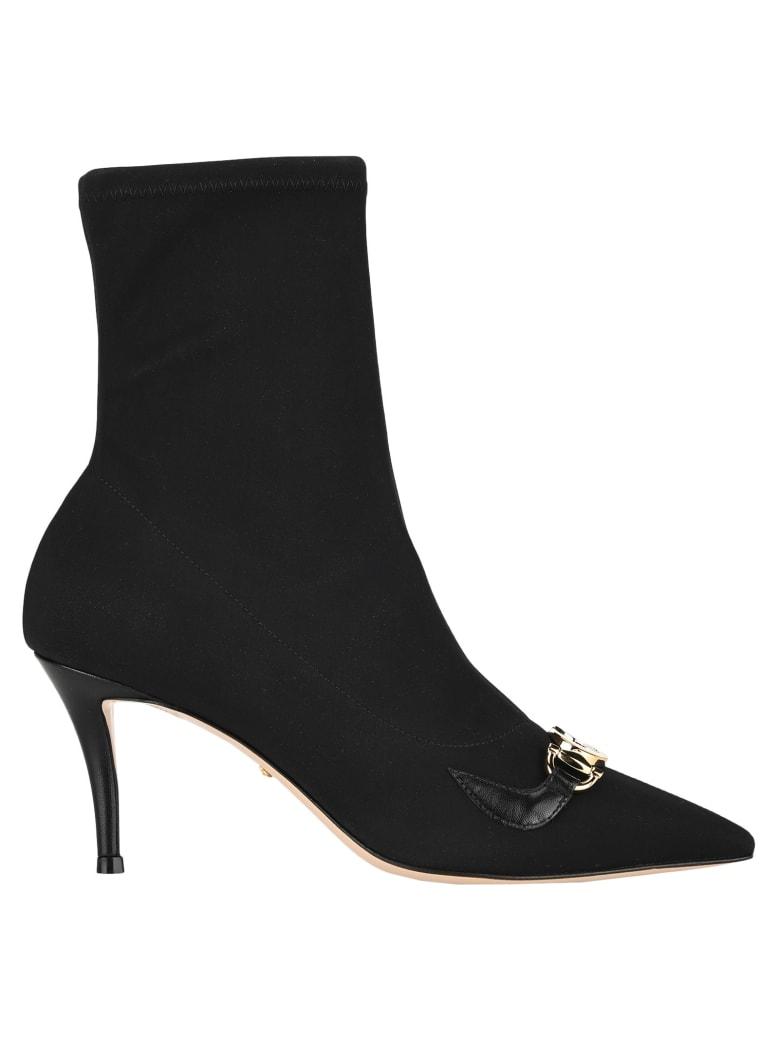 Gucci Zumi Mid-heel Ankle Boot - BLACK