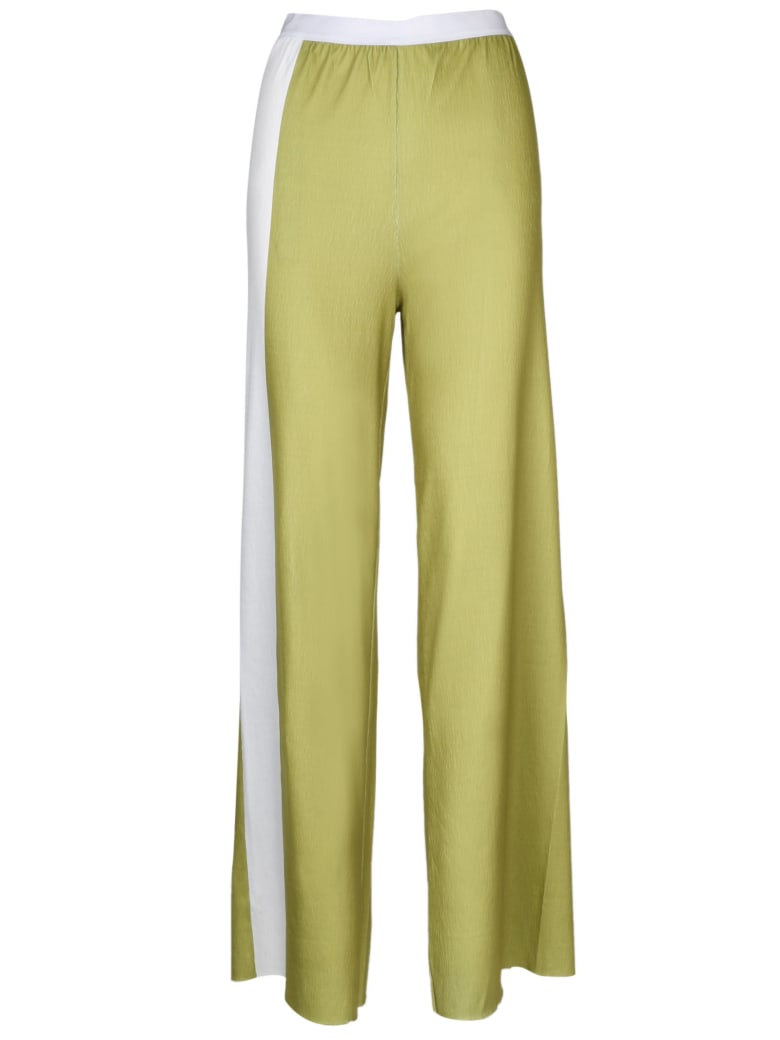 PierAntonioGaspari Jersy Wide Leg Pants - Green