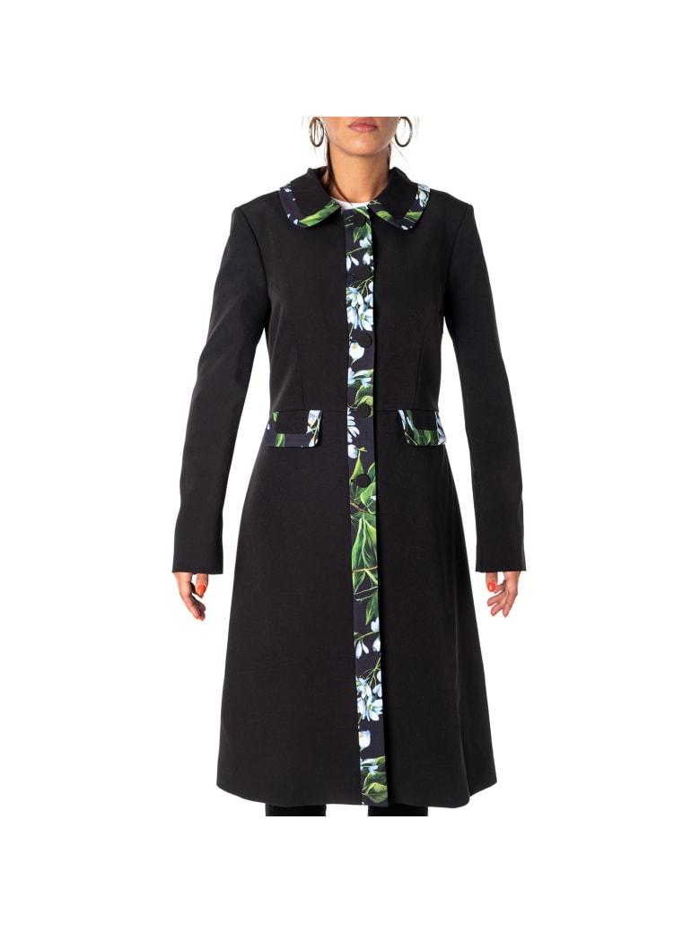 Blumarine Coat - BLACK