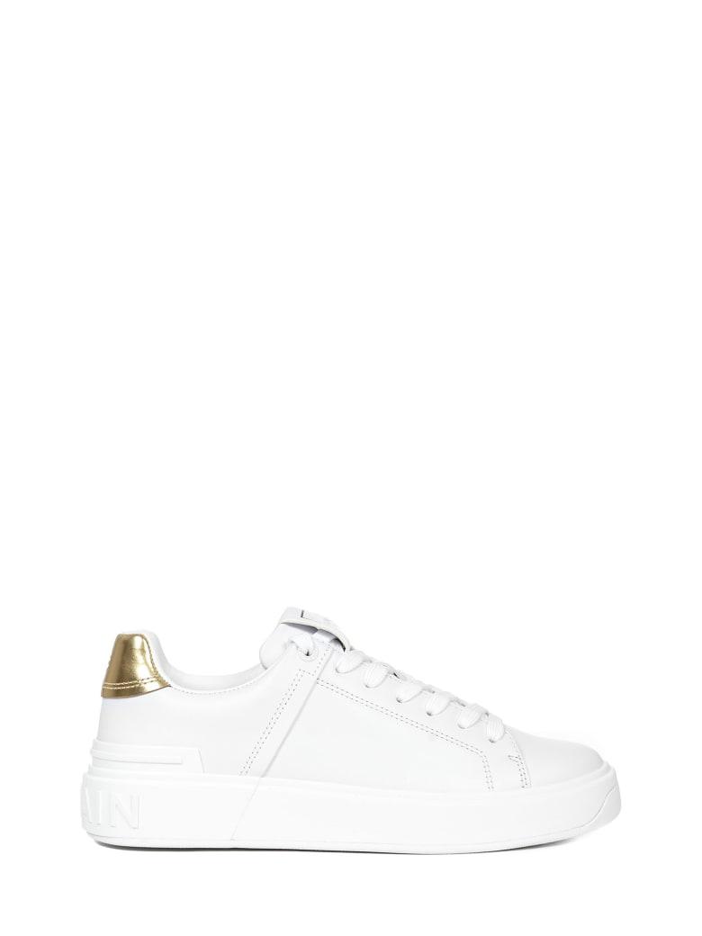 Balmain Paris B-court Sneakers - White