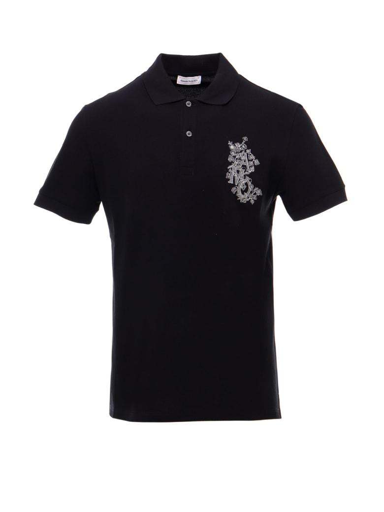 Alexander McQueen Polo Shirt - Black