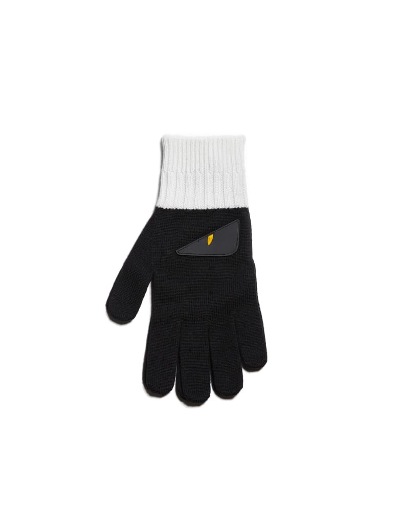 Fendi Gloves - Bianco ice