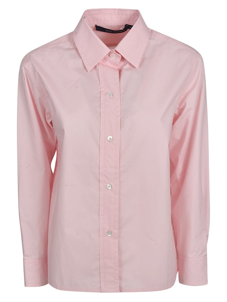 Sofie d'Hoore Classic Shirt - Rose