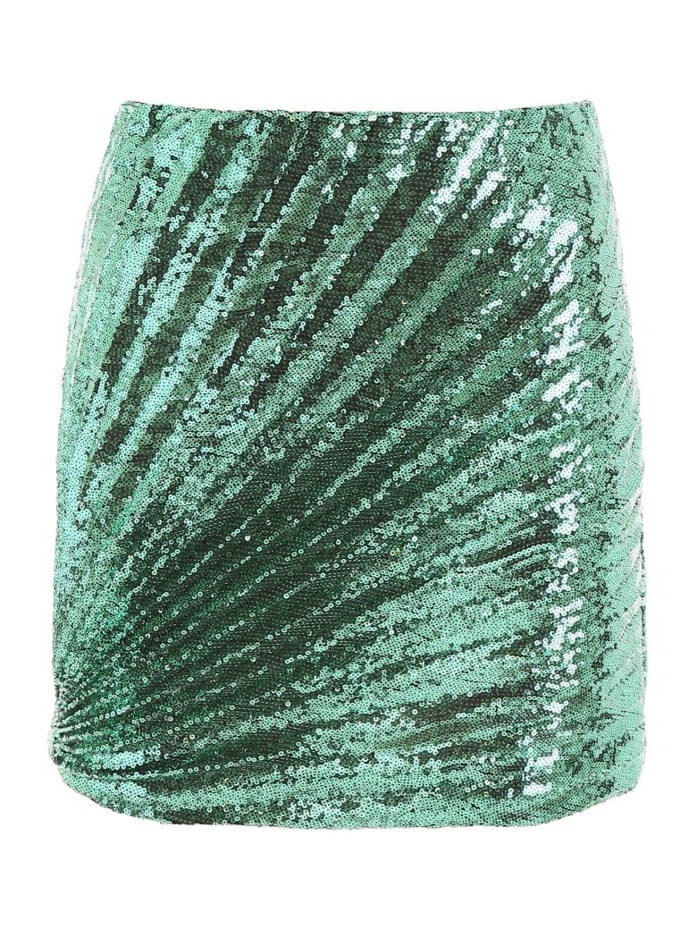 Marco de Vincenzo Sequins Mini Skirt - VERDE (Green)