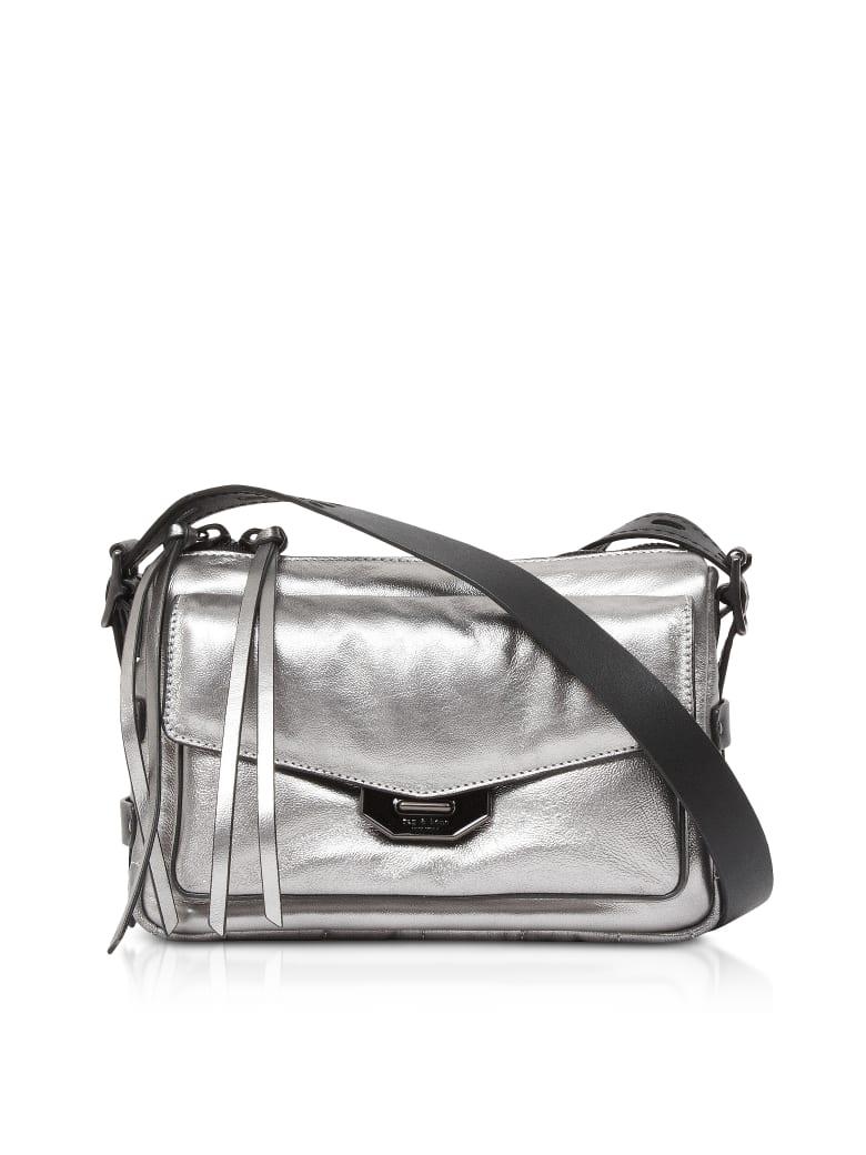 Rag & Bone Aluminum Small Field Messenger Bag - Silver