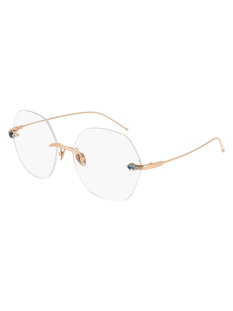 Pomellato PM0092O Eyewear - Gold Gold Transparent