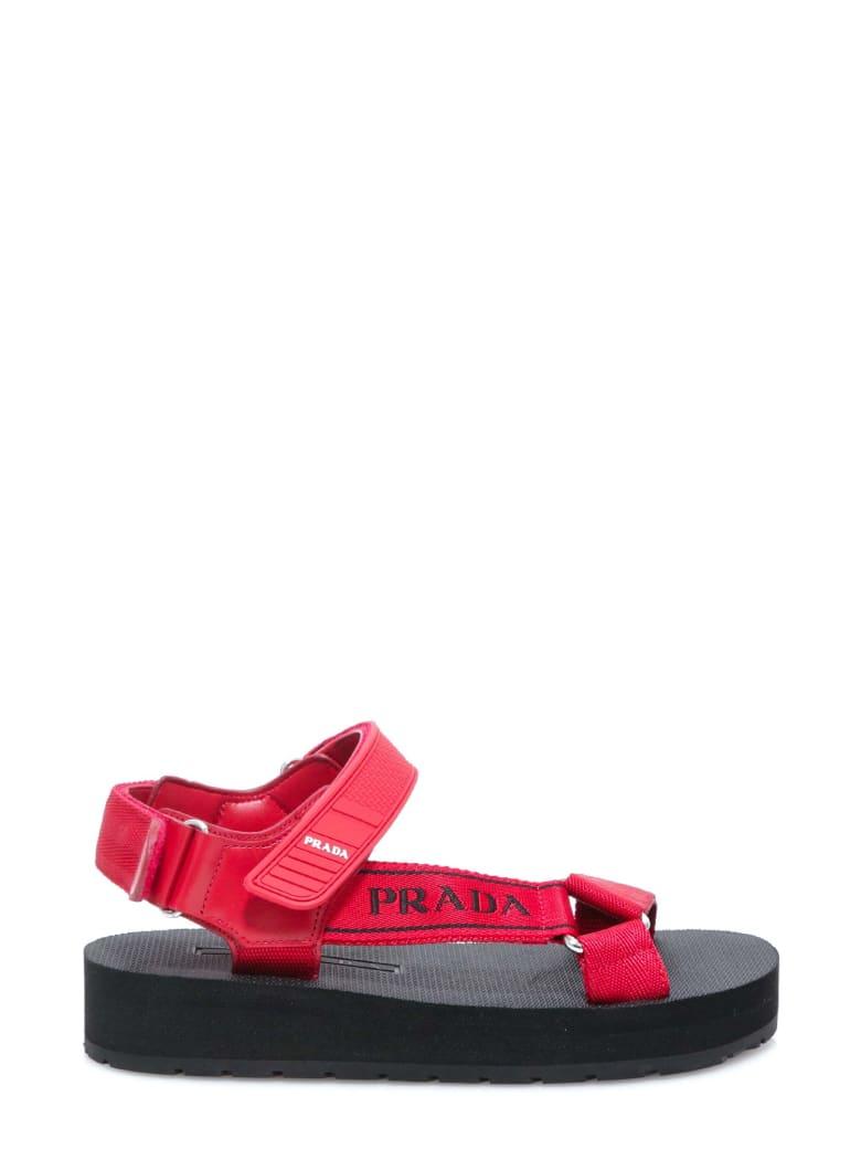 Prada Sandals - Red