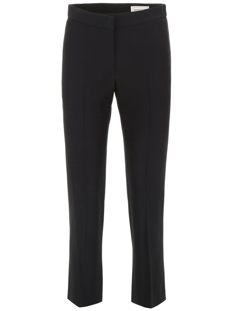 Alexander McQueen Cady Trousers - BLACK (Black)